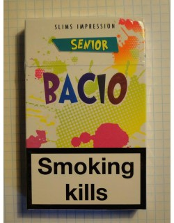 Сигареты Bacio Slims Senior