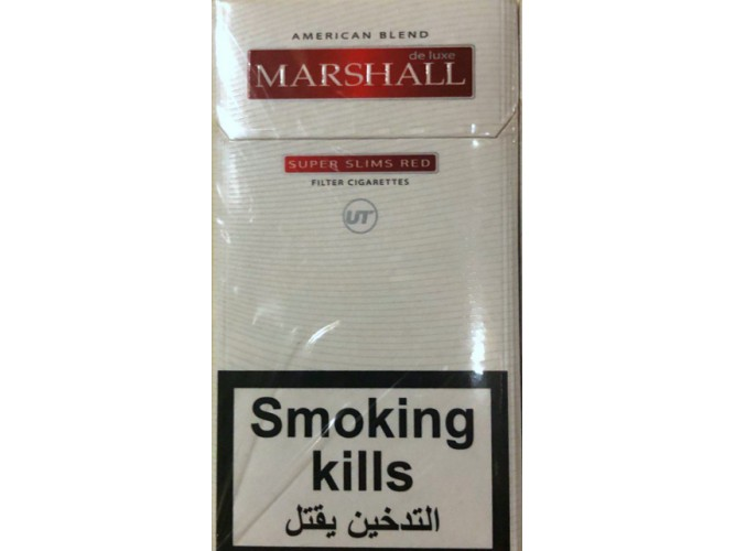Сигареты Marshall Slims Red (картон)