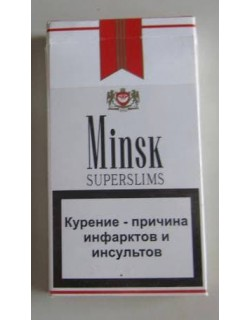 Сигареты Minsk Red Super Slim